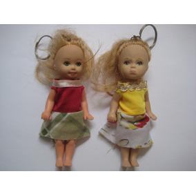 2 Bonecas Chaveiro Jakks Pacific 2001