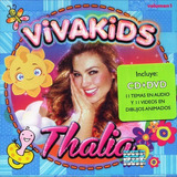 Viva Kids - Thalia - Disco Cd + Dvd - Nuevo (11 Canciones)