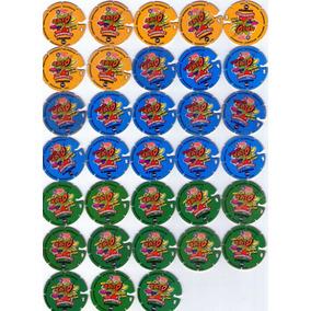 Lote C/33 Tazos Arma E Voa Animaniacs- Elma Chips 1997
