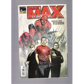 Marvel Max - Números 28-29-30-33-34-35 - 5 Reais Cada