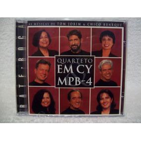 Cd Original Quarteto Em Cy & Mpb-4- Bate Boca
