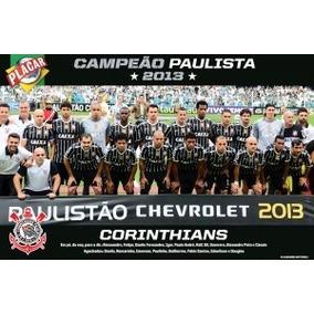 Poster Gigante Corinthians Campeão Paulista 2013