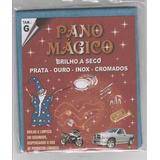 Flanela Pano Magico G Limpa Ouro Prata Metal 10 Flanelas Gr