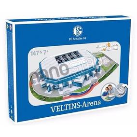 Rompecabezas 3d Estadio Veltins Arena Schalke 04 Nanostad
