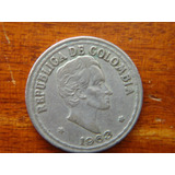 Moneda 20 Centavos 1963