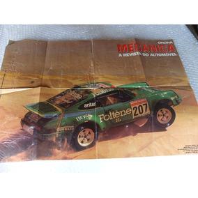 Poster Porsche 911 Turbo 4x4 Rally Tunisia Piloto Formula 1