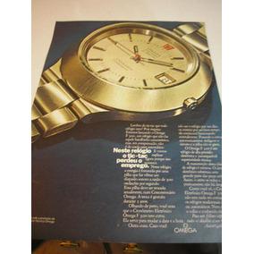 a4fadd1de21 L 290 Propaganda Antiga Relogio Omega - Propaganda Antiga no Mercado ...
