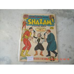 Revista Super Heróis Nº6 Shazam Ano 1974 - Ótimo Estado