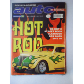 Auto & Técnica Revista Poster Ano 1 Numero 1hot Rod.