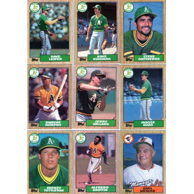 Lote-01- C/54 Cards- 06 Times De Baseball-usa-1987