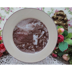 Porcelanas Chá De Anis - Prato Decorativo Vista Alegre