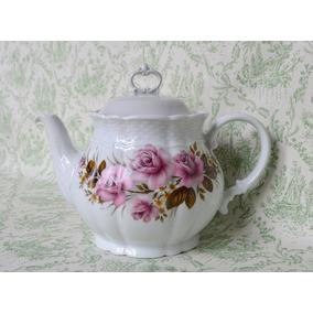 Tetera Porcelana Verbano Vanna Bouquet Rosalinda