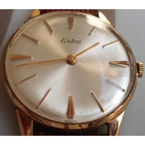 aa933eecc3e Relogio Eska Ouro - Relógios no Mercado Livre Brasil