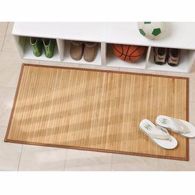 Kit 50 Tapetes Bamboo Natural Yoga Sala 1.2m .6m Boda Regalo