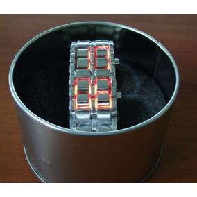 Relógio Iron Samurai Aço Inox Cromado Frete Grátis