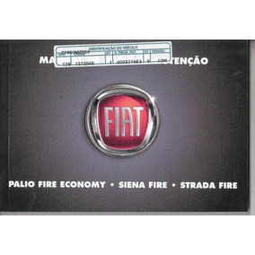 Manual Proprietário Palio Fire Econom Siena Strada 2010 Kit