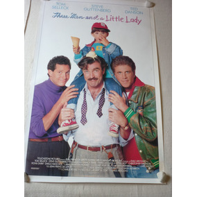 Tom Selleck - Three Men And A Little Lady - Poster
