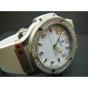6356a6b3280 Relogio Hublot Com Diamantes - Relógios no Mercado Livre Brasil