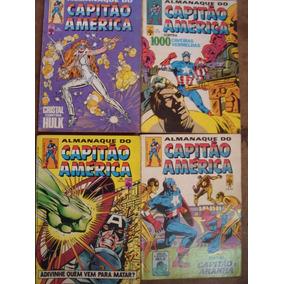 Capitão América Nºs 100 Ao 212 Ed. Abril Preço Para 4 Gibis