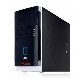 Pc Cpu Dual Core Intel 2 Gb De Memoria Hd 80 Gb Com Wifi