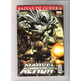 Revistas Marvel Action N. 14-07 - Baixas De Guerra - V. Secr