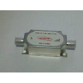 Amplificador Sinal P/ Antena Parabólica Banda C, Ku, Digital