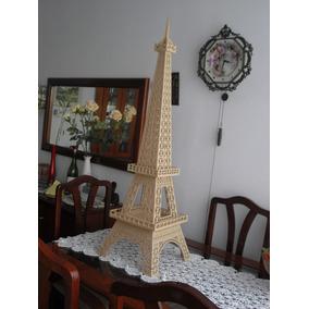 Torre Eiffel Mdf 3mm 1,15m - 3d Para Montar