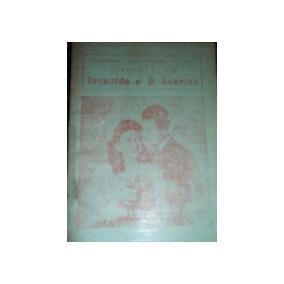 Livro Cordel História De Bernardo E D. Genevra