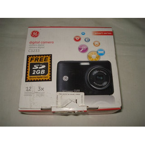 Câmera Digital Ge Modelo C1233 - Sem Acessórios