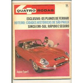 *sll* Antiga Revista Quatro Rodas N. 73 - Abril - Ano.1966