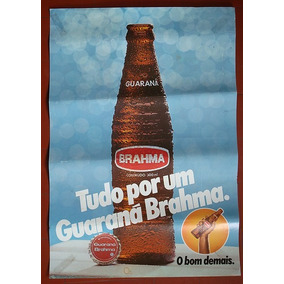 Cartaz Promocional Do Guaraná Brahma