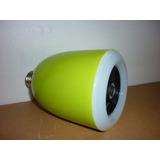 Parlante Bluetooth Bombillo Luz Led Suministros Fauca