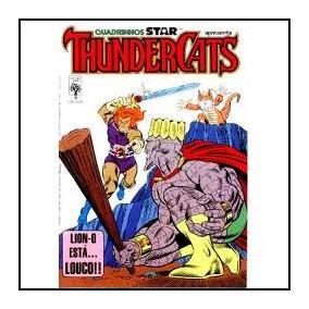 Thundercats Nº 9: Lion-o Está... Louco! José Delbo - 1987
