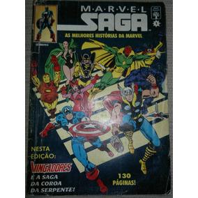 Gibi Marvel Saga Nº 1 - Abril - 1991