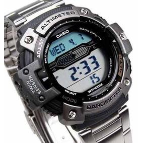 c222e0a89cd Relogio Casio Com Barometro Altimetro Profundidade - Relógios De ...