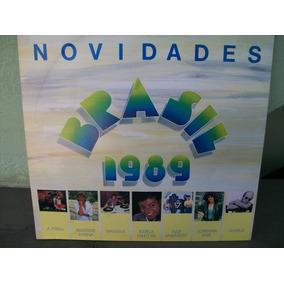 Lp . Novidades Brasil 1989 Disco Novo .