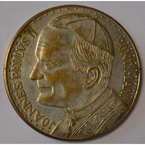 City Joannes Pavlvs Ii Medalla Vaticano Roma Juan Pablo