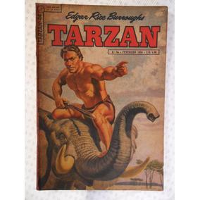 Tarzan Nº 44! 1ª Série! Ebal Fev De 1955!