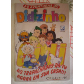 As Aventuras Do Didizinho Nº 1 ! Encadernado Editora Escala!