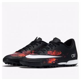 90ad91a0cf Chuteira Mercurial Society Cr7 - Chuteiras Nike de Society no ...