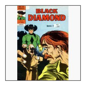 Black Diamond Nº 6: O Golpe Decisivo - Ebal - 1975 - Hq