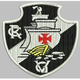 Patch Bordado Termocolante Time Vasco Da Gama (rj) 8cmx6 0dae2cf52c5e6