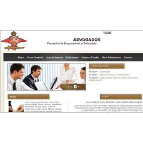 Site Para Advogados Dinâmico Administravel - Sistema Em Php