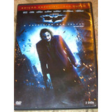 Dvd Duplo Batman Cavaleiro Das Trevas (2008) Heath Ledger