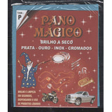 Flanela Pano Magico P Limpa Ouro Prata Metal 10 Flanelas Pq