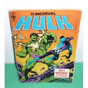 O Incrivel Hulk Nº 48 Ed. Abril 26/06/1987 (usado).