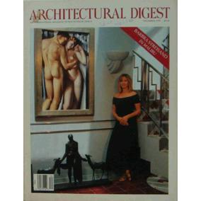 Revista Architectural Digest December 1993 Barbra Streisand