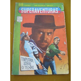 Super Aventuras Ediex N°22 C/ Bandido Do Olho Vesgo Faroeste