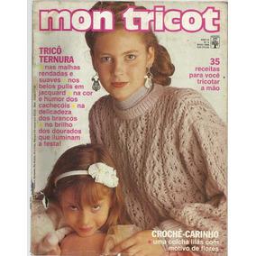 Lote 4 Revistas Mon Tricot Trico E Croche - Revistas de Coleção no ... 665181ccafb