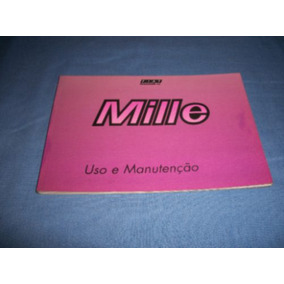 Manual Do Propietario Fiat Uno Mille (original) Bom Estado